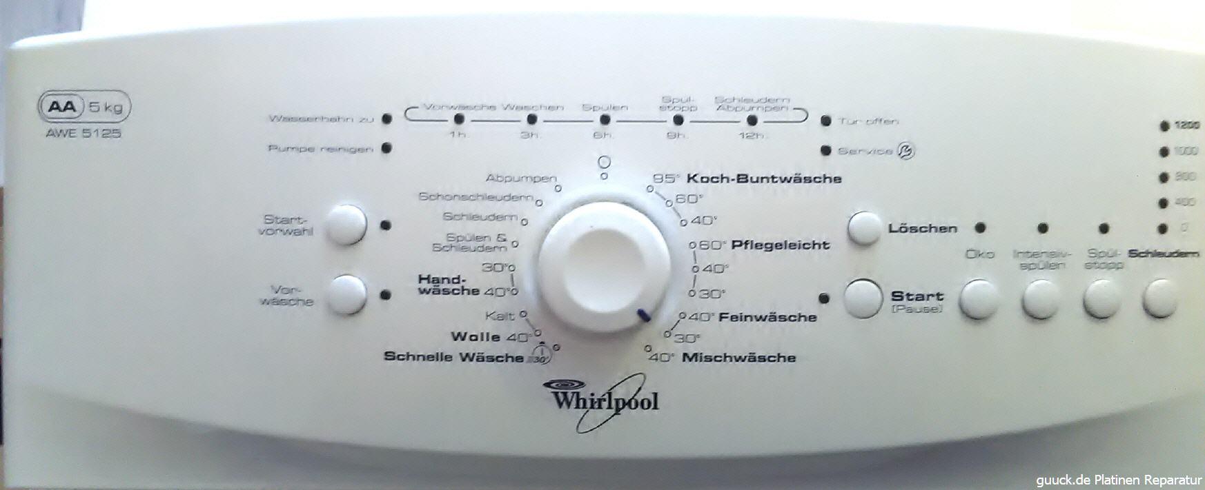 waschmaschine platine defekt wir reparieren ihre defekte. Black Bedroom Furniture Sets. Home Design Ideas